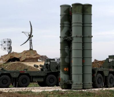 Russian S-400 in Syria